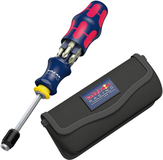 Wera Red Bull Racing Bitschroevendraaier - Incl. 6 RVS Schroefbits