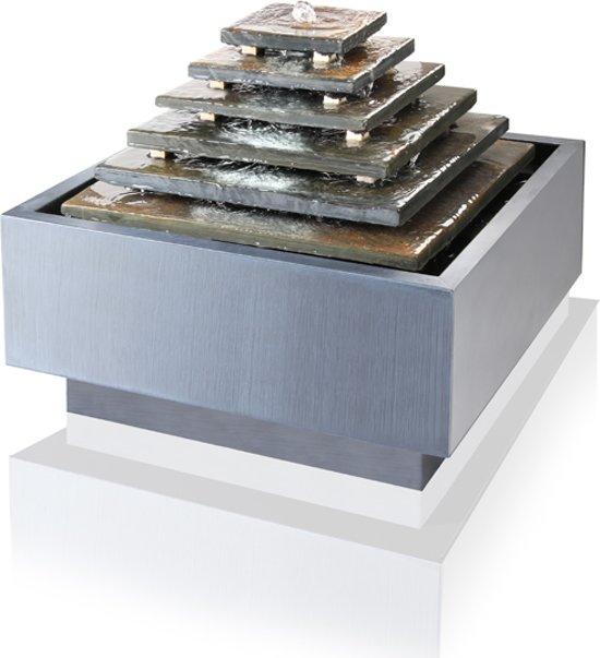 bol.com | Waterval Azteekse Pyramide Leien Waterornament met LED ...
