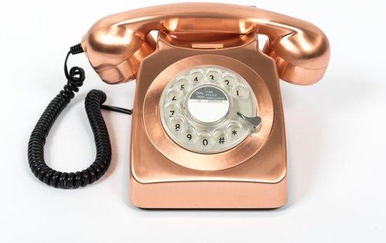 GPO 746ROTARYBRO Telefoon met draaischijf klassiek jaren '70 ontwerp