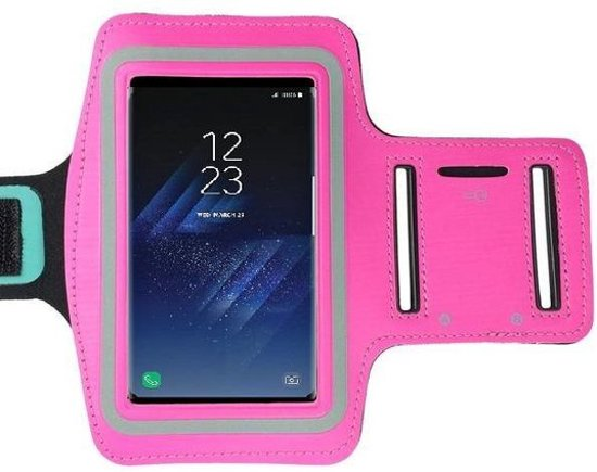 Sport Armband hoes voor Samsung Galaxy S8 Plus - Roze