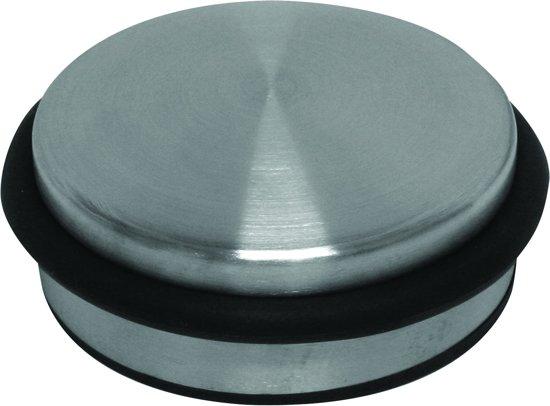 Verlofix Deurstop - RVS Deurstopper - Ø 110 mm