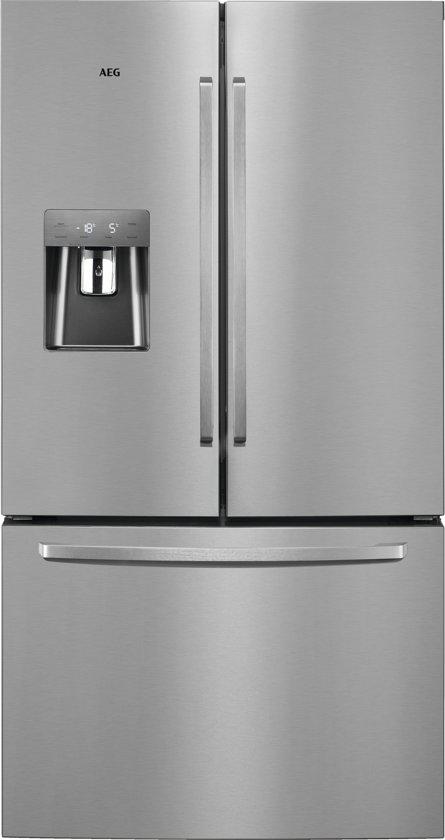 AEG RMB86321NX - Amerikaanse koelkast - RVS