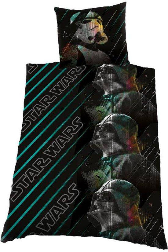 Dekbedovertrek licentie Star Wars Clones Maat: 1-Persoons 140x200 + 1 Sloop