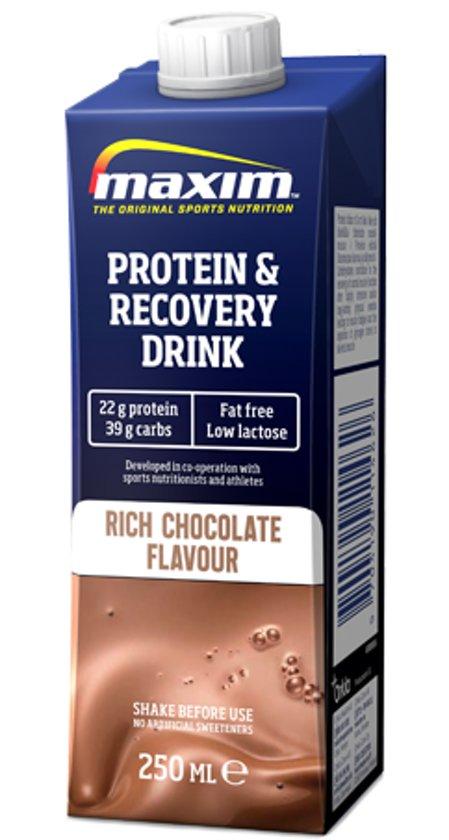 10x Maxim Recovery Drink Chocolate 250ml