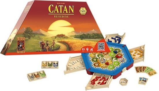 De Kolonisten van Catan: Reiseditie - Gezelschapsspel