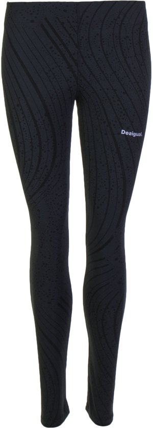 Desigual Legging Essencials  Sportbroek performance - Maat S  - Vrouwen - zwart