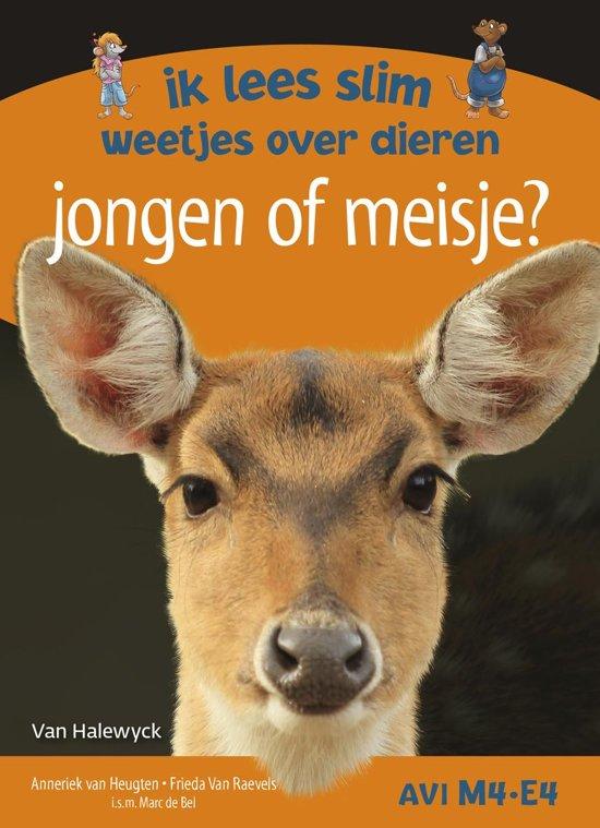 Boek cover Jongen of meisje? Ik lees slim - weetjes over dieren van Anneriek van Heugten (Hardcover)