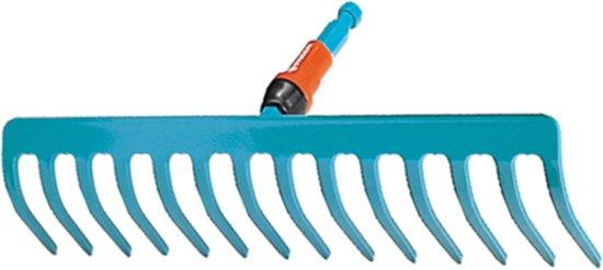 GARDENA Combisysteem Hark 12 tands - werkbreedte 30 cm - aanbevolen steellengte 150 cm