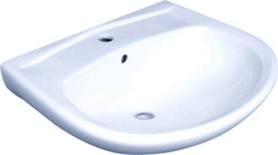 Wastafel 60 Cm : Aqua royal badmeubel roma cm hoogglans wit hoogglans antraciet