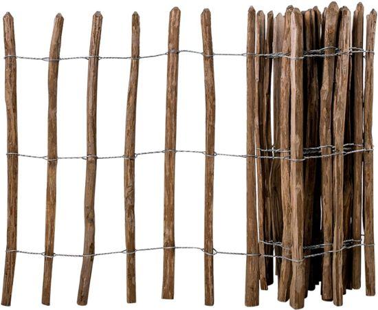 Houten Afscheiding Tuin : Bol.com vidaxl hazelaar houten hek geïmpregneerd 90x500 cm