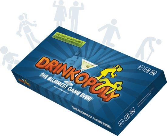 Afbeelding van Drinkopoly Bordspel Drankspel - 6 spelers speelgoed