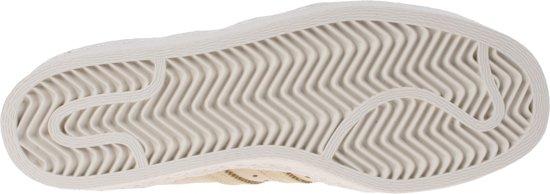 37 Adidas Heren 80's 1 3 Maat Crème Superstar wit Sneakers wOvnymN80