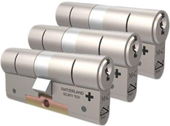 Cilinderslot - M&C Matrix SKG*** 3 cilinders met 5 sleutels