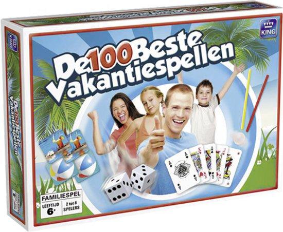 Afbeelding van het spel 100 Beste Vakantiespellen ''zomereditie''