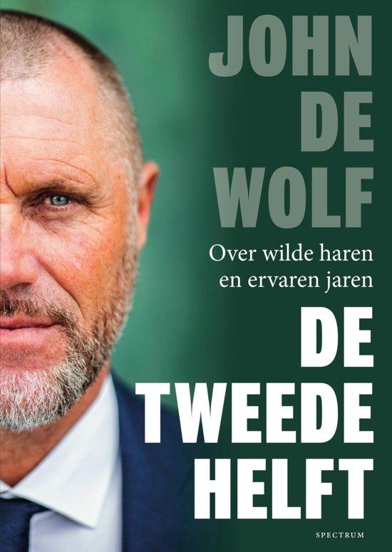 Boek cover De tweede helft van John de Wolf (Onbekend)