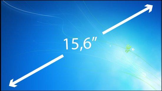 15.6 inch Laptop Scherm EDP Slim 1366x768 Glossy B156XW04 V.8 HW1A