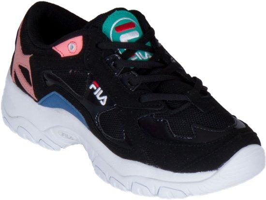 Fila FW Sneakers Maat 39 Vrouwen zwartrozeblauwwit