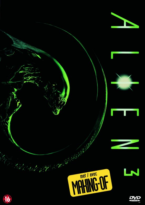 Cover van de film 'Alien 3'
