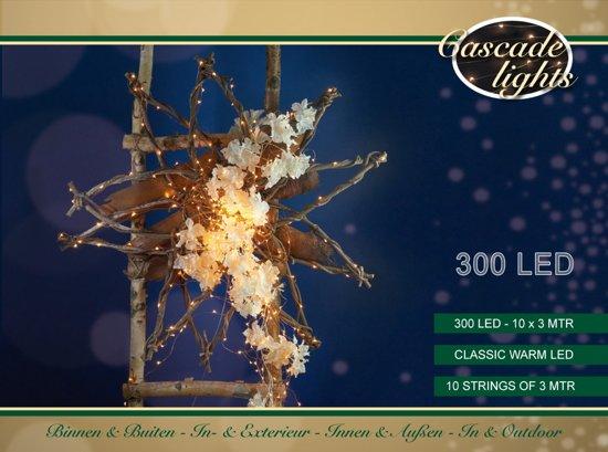 bol.com   Cascade verlichting koperdraad 300l/10x3m led classic