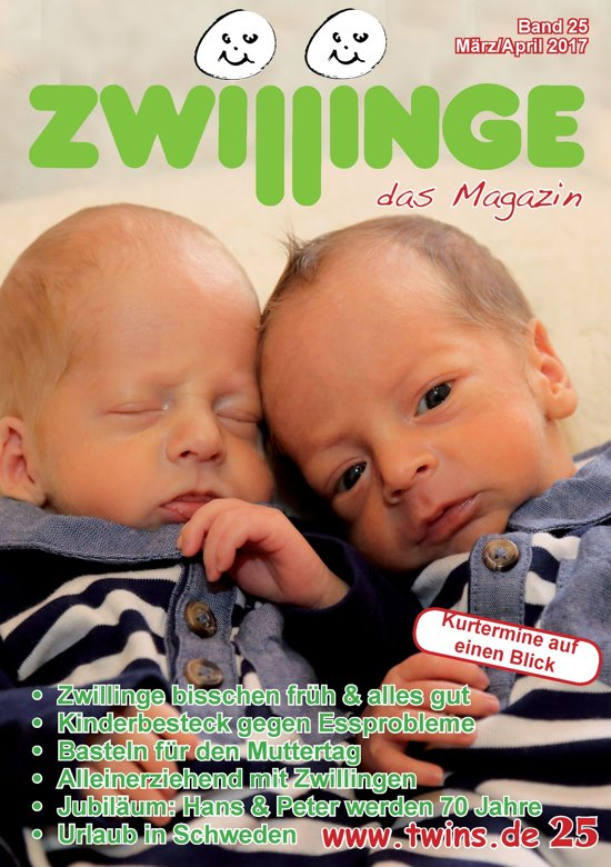 Zwillinge das Magazin März/April 2017