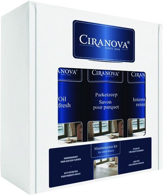 Ciranova Onderhoudskit voor Geoliede Vloeren - Set