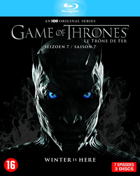 DVD cover van Game Of Thrones - Seizoen 7 (Blu-ray)