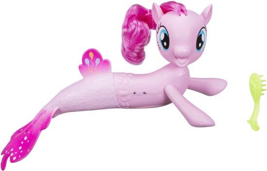 My Little Pony De Film Zwemmende  Pinkie Pie - Zeepony - 15 cm
