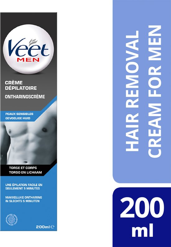 Veet for Men Ontharingscrème - Gevoelig - 200 ml