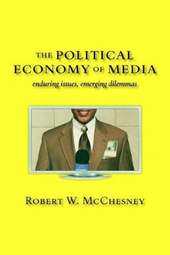 the political economy of the media