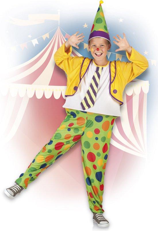 Kinderkostuum clown (4-6 jaar)