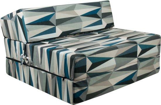 Design logeermatras - modern - camping matras - reismatras - opvouwbaar matras - 200 x 90 x 15 - sofa