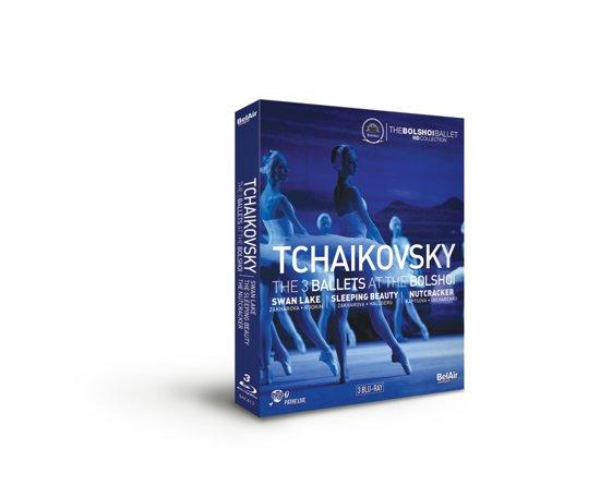 The 3 Ballets At The Bolshoi