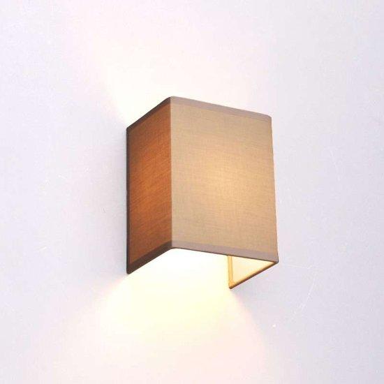 Qazqa wandlamp vete beige - Apliques pared modernos ...