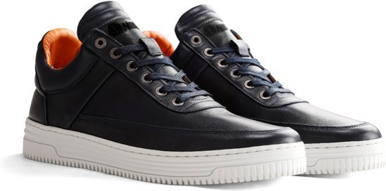 44 Leren Maat Heren Nogrz vasari Blauw Sneaker G vCwqw04