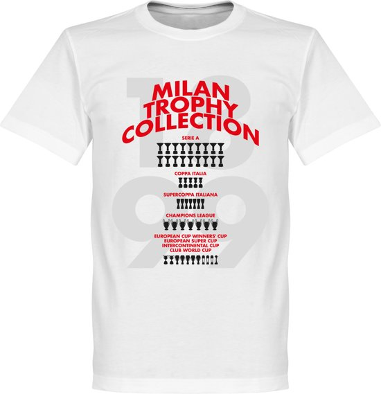 AC Milan Trophy Collection T-Shirt - S