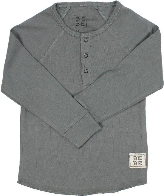 173572f88321d0 bol.com | BeBe Basic Longsleeve - Grey - Maat 80