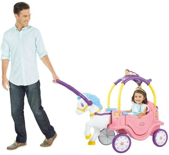 Little Tikes Princess Horse & Carriage