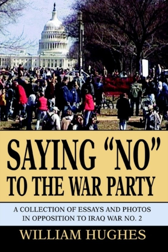 Saying No to the War Party