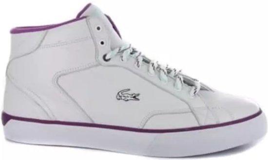 Lacoste Hoge Sneakers Esteban Fb 2 Heren Wit Maat 45