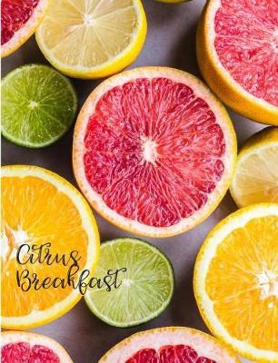 Citrus Breakfast Juicy Orange Lime Grapefruit Slices Composition Book Kari A. Notebook Composition Book