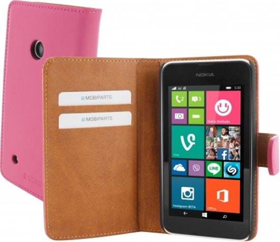 Mobiparts Premium Wallet Case Nokia Lumia 530 Pink