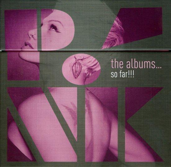 CD cover van The Albums...So Far!!! van Pink