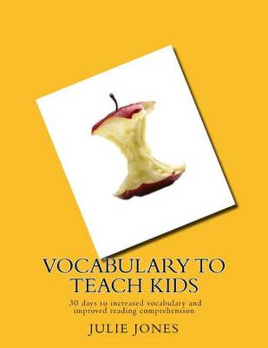 Vocabulary to Teach Kids