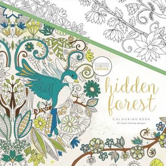 Voorbeelden Van Kleurplaten Voor Volwassenen.Bol Com Kaisercraft Kleurboek Voor Volwassenen Hidden Forest