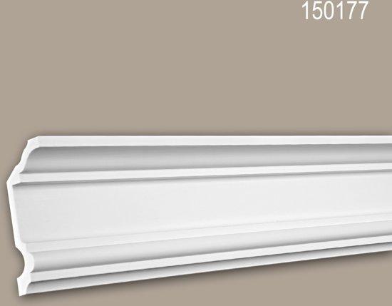 Kroonlijst 150177 Profhome Sierlijst Lijstwerk neo-classicisme stijl wit 2 m