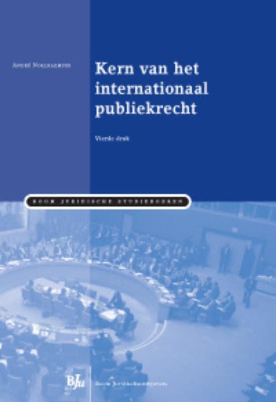 Boek cover Kern van het internationaal publiekrecht van Andre Nollkaemper (Paperback)