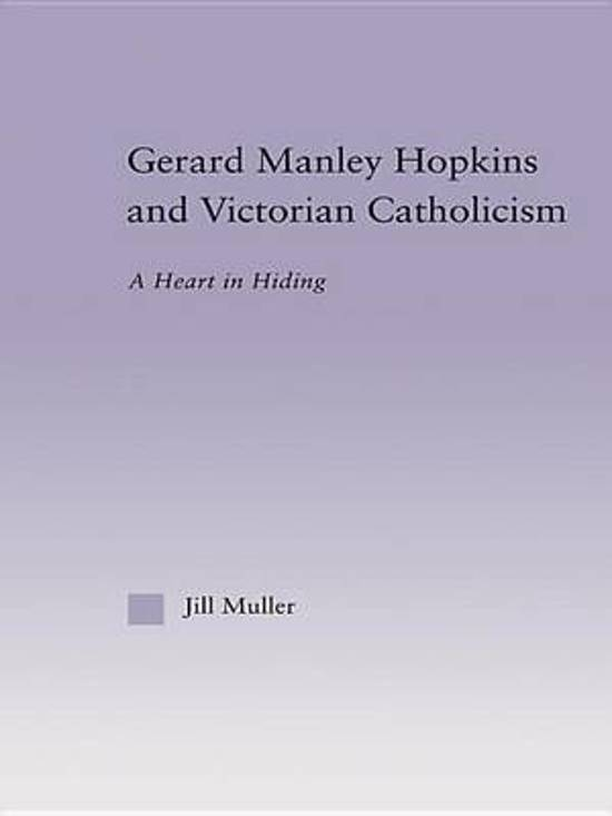 the life and works of gerard manley hopkins