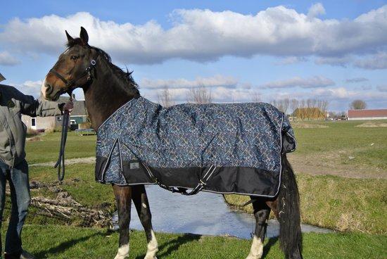 Buitendeken Regendeken luxe o gram met fleecevoering spetter - maat 215