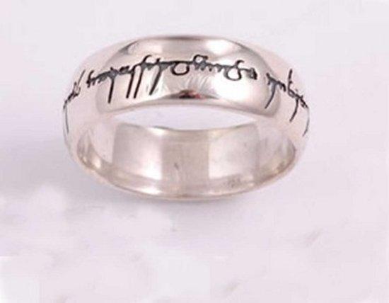 Elvish Love Zilveren Ring maat 50
