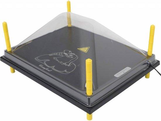 Afdekkap voor warmteplaat 40x50cm